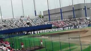 8月12日にナゴヤ球場で催されたファーム中日広島戦にて 前日の11日...