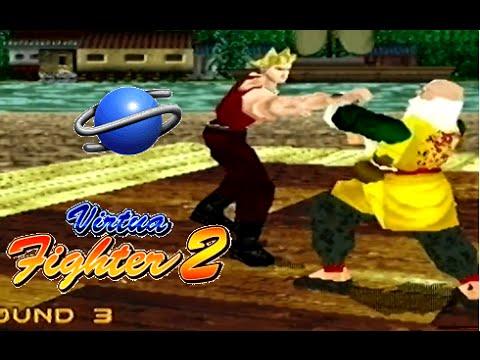 Virtua Fighter 2 playthrough (SEGA Saturn)