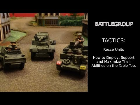 Battlegroup Tactics: Recce Units