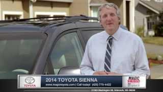 2014 Toyota Sienna Review  | Magic Toyota - Toyota Dealer in Edmonds, WA
