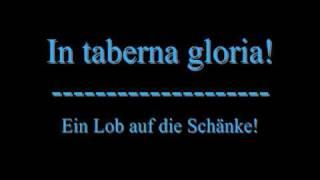 "Latein üben mit In Extremo - ""In Taberna Gloria"""