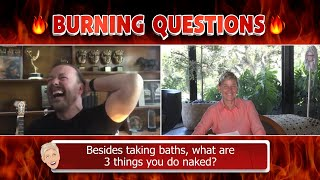 Ricky Gervais Answers Ellen's 'Burning Questions'