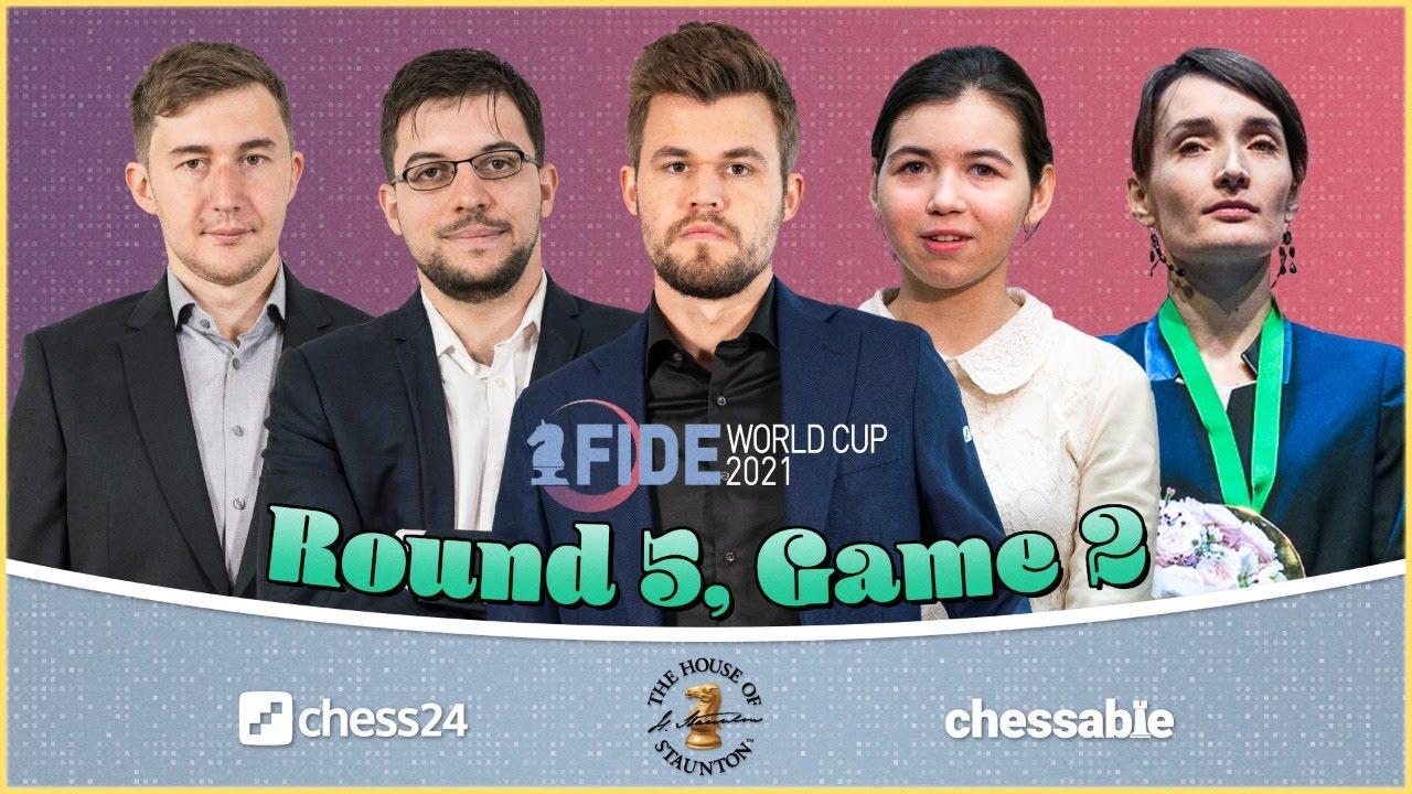 Download FIDE World Cup, Round 5.2 | Loek van Wely & Jan Gustafsson