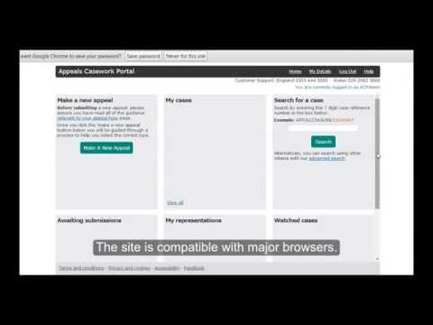 Appeals Casework Portal demonstration