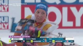 "Biathlon - "" Sprint Damen "" - Annecy - Le Grand Bornand 2019 / "" Sprint Women """