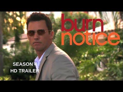BURN NOTICE season 4 Trailer #1 - Jeffrey Donovan - Gabrielle Anwar - Bruce Campbell