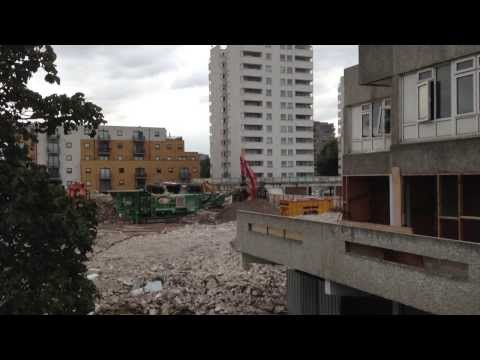 Thamesmead demolition 5