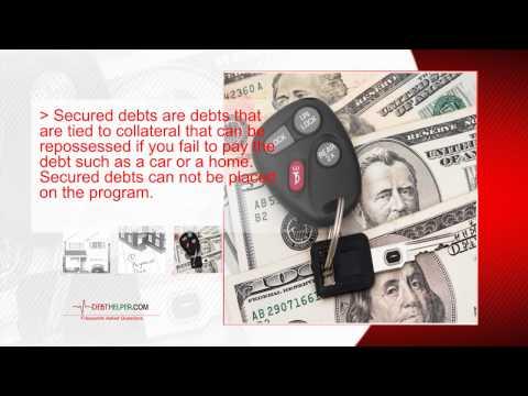 What Kind of Debt can be Put on a Debt Management Program? DebtHelper.com Unsecured Debt Reduction