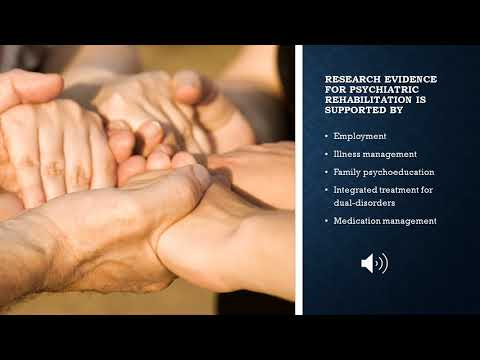 REHC 5350- Psychiatric Disability Marketing Video- Abril & Mane