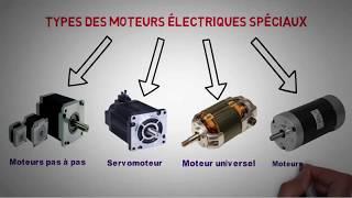 les différents types des moteurs electriques