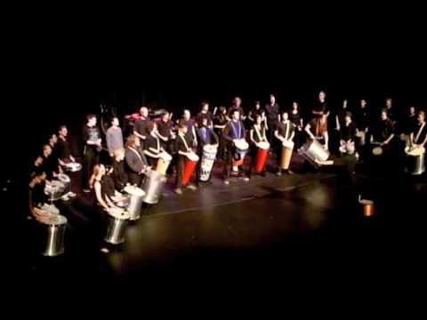 Samba Bahian Suite 2009 - HSU World Percussion Ensemble