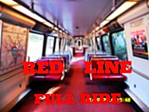 🚇/💺 WMATA Metrorail: Red Line (RD) To Shady Grove... FULL RIDE!