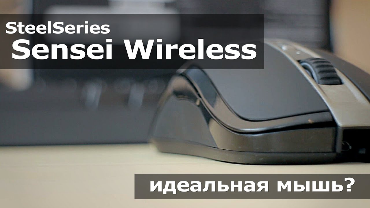 SteelSeries Sensei Wireless - идеальная мышь?