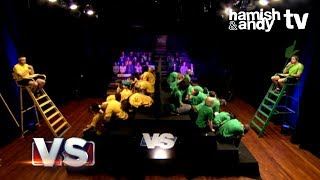 Hamish VS Andy | Life Size Guess Who?