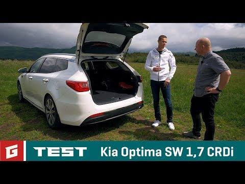 Kia Optima SW 1,7 CRDI DCT TEST Garaz.TV Raso Chv la