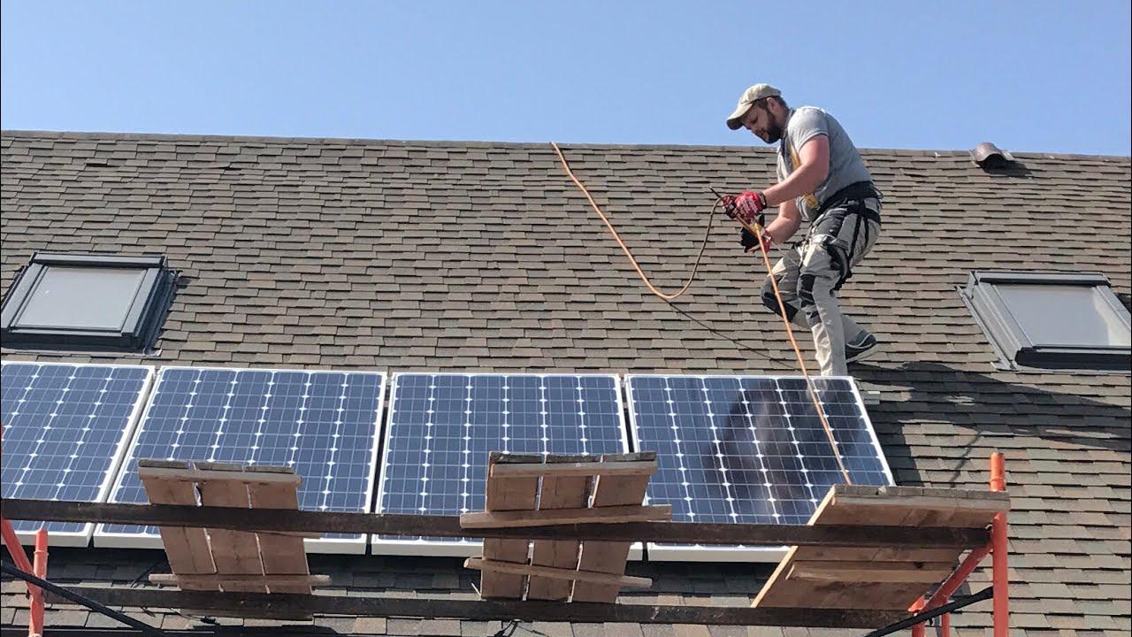 Солнечные батареи в загородном доме. Монтаж своими руками