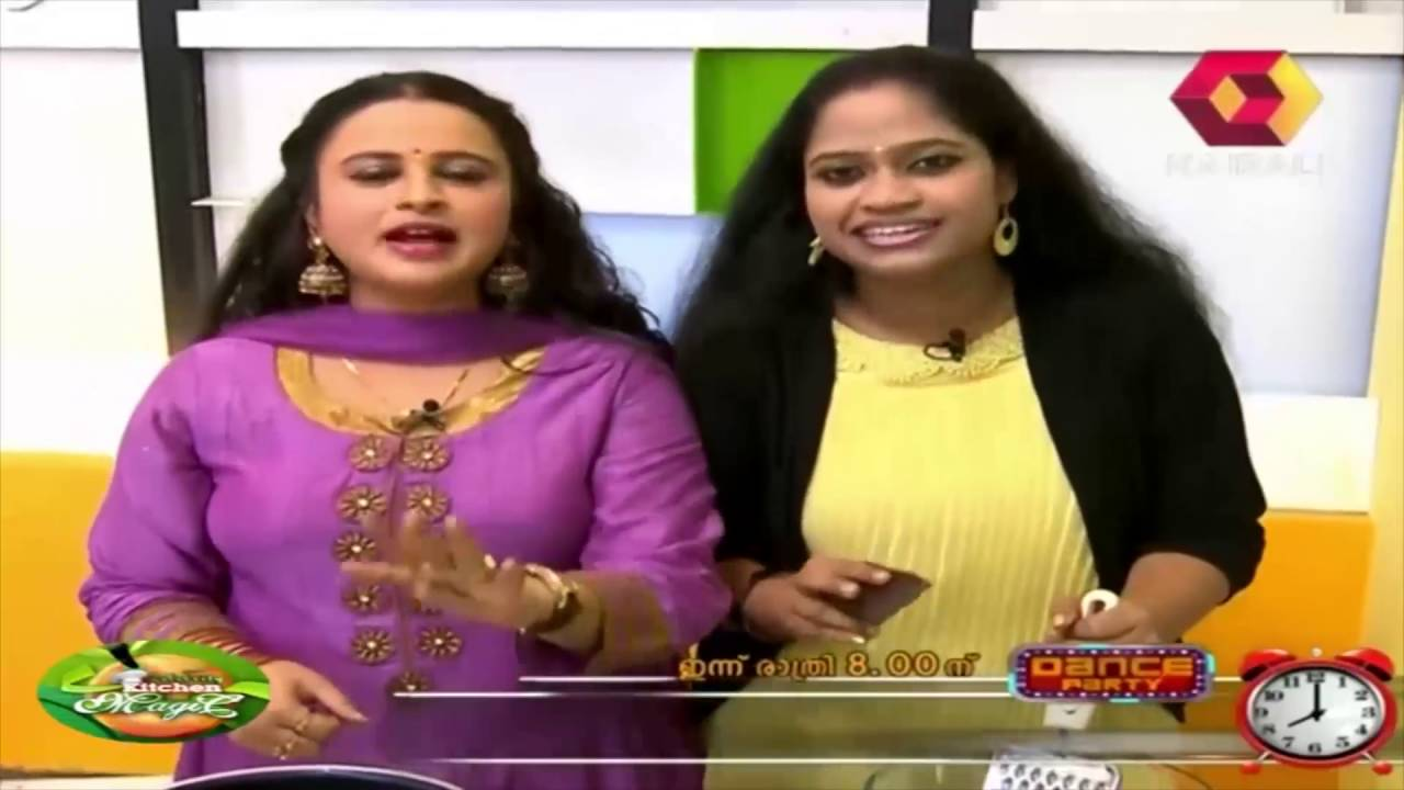 Malayalam Tv Shows Celebrity Kitchen Magic | NETTV4U