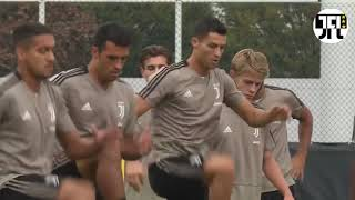 Download Video Juventus and Ronaldo Back To Training for The Next Serie A Match Vs Genoa MP3 3GP MP4