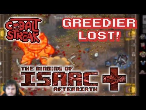 Afterbirth+ #16 - Greedier Lost - Cobalt Streak