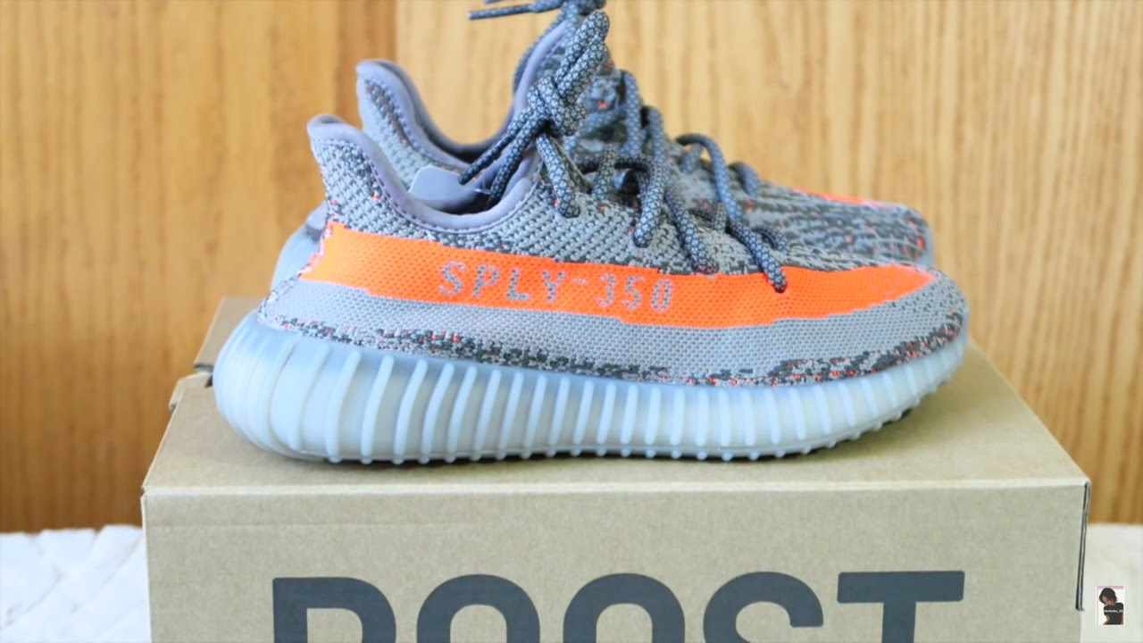 reputable site 8ea6e 9d6ef ADIDAS YEEZY BOOST 350 V2 (GS) UNBOXING/REVIEW/ONFOOT!!!