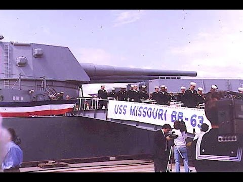 USS Missouri - A Final Farewell