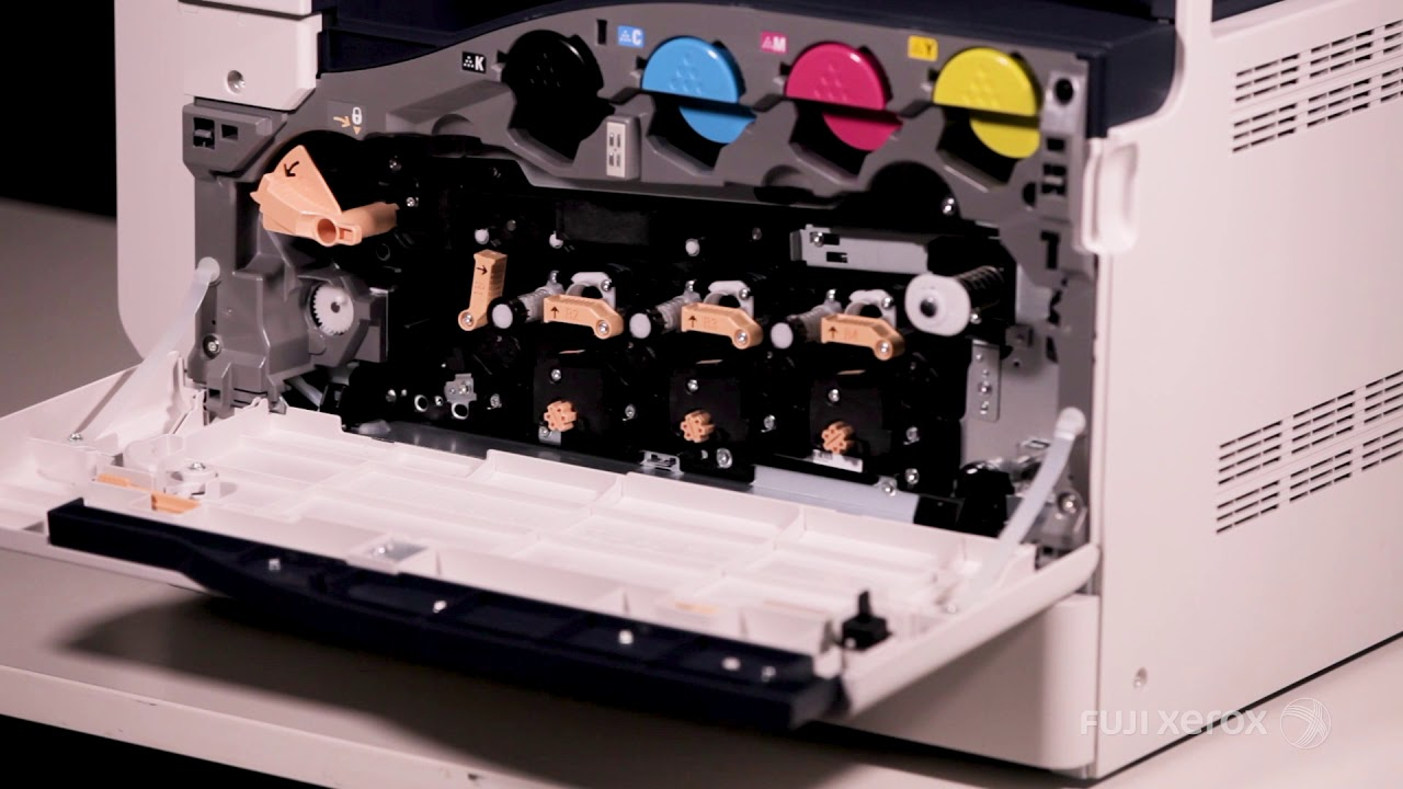 How To Replace a Drum Cartridge - DocuCentre SC 2022 -EN