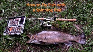 DVD How to Fly Fish with a Spinning Rod