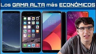 Los 7 MÓVILES de GAMA ALTA más BARATOS y ECONÓMICOS del 2017 (Galaxy S8, Xiaomi Mi Mix 2...)