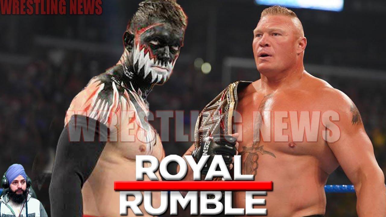 Download Brock Lesnar vs Demon Finn Balor WWE Championship Match