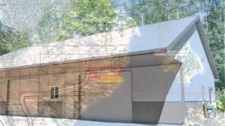 Lake Shish Property With Garage/living Quarters