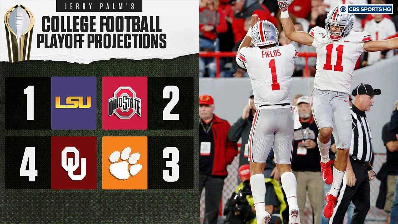 Bowl projections: Oklahoma claims last College Football Playoff spot ...