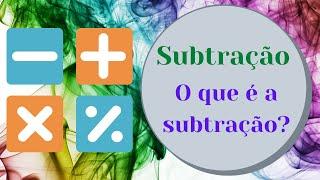 Subtração - O que é a subtração - Matemática 1º ciclo - O Troll explica...