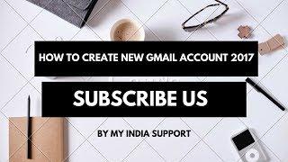 كيفية إنشاء حساب Gmail ل 2017 l #01