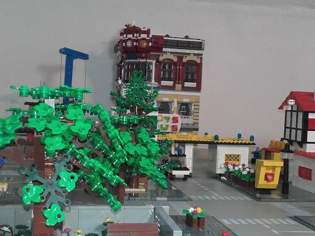 Bau meiner LEGO Stadt Teil 15