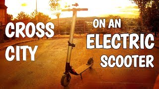 Video Getting home on an Electric Scooter - Ninebot by Segway KickScooter ES2 download MP3, 3GP, MP4, WEBM, AVI, FLV September 2018