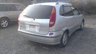 Видео-тест автомобиля Nissan Tino (серебро, V10-001721, Qg18de, 1998г.)