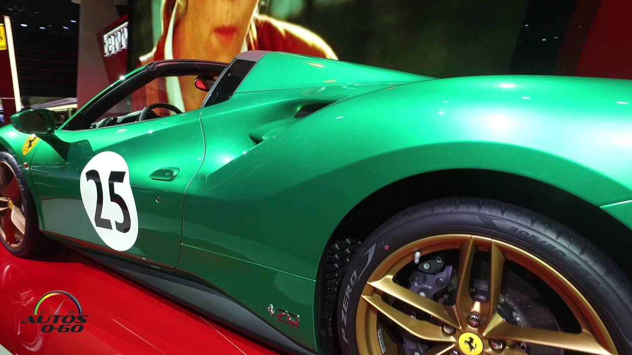 Ferrari At The Paris Auto Show YouTube - Ferrari car show