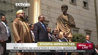 CCTV : Morocco Signs Deal With Ethiopia on Mega Fertilizer Plant - ሞሮኮ ከኢትዮጵያ ጋር የማዳበሪያ ምርትንና ንግድን በ