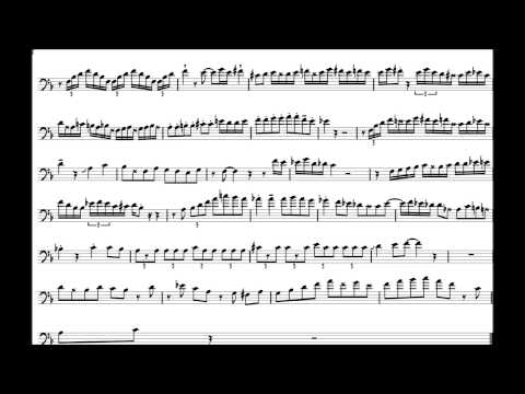 Carl Fontana 'Confirmation' Trombone Solo Transcription
