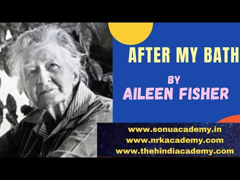AFTER MY BATH BY AILEEN FISHER