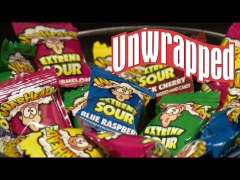 How Warheads Get So Insanely Sour (from Unwrapped) | Food Network