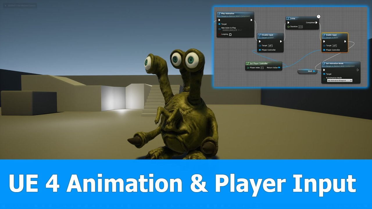 Ue4 animation enable disable player input youtube ue4 animation enable disable player input malvernweather
