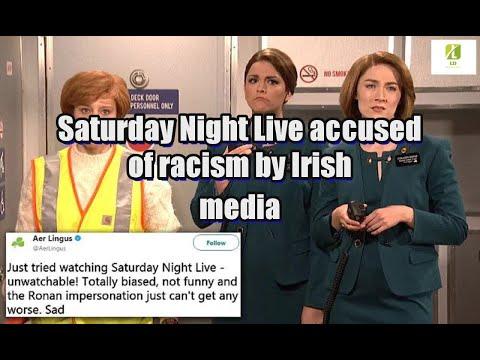 Saturday Night Live accused of racism by Irish media