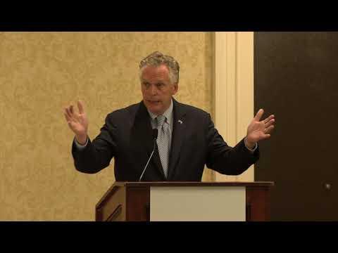 VSBA2017 Legislative Advocacy Conference Terry McAuliffe