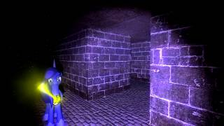 Luna playing scary garry's mod map [GMOD]