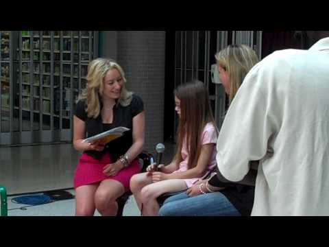Olivia's CHIN TV Interview for the Kick Cut Care event (RAW VIDEO FOOTAGE)