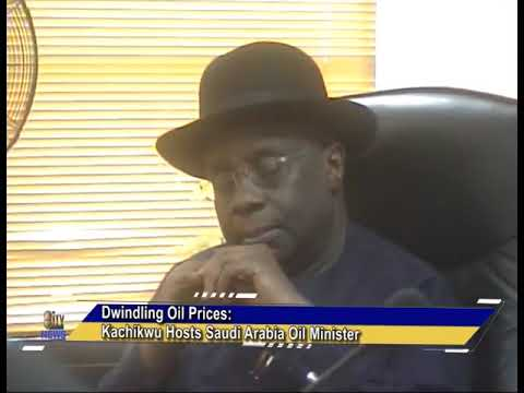 Dwindling Oil Prices: Kachukwu Host Saudi Arabia Oil Minister