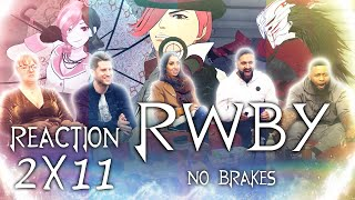 RWBY - 2X11 No Brakes - Group Reaction