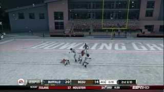 NCAA Football 13 (Xbox 360): Buffalo at Bowling Green - FULL GAME [1080P HD]