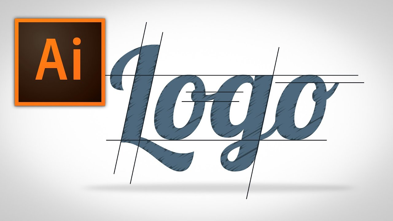 how to make a logo in illustrator youtube